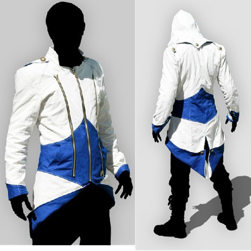 Assassins Creed Cosplay Costume Adult Men Halloween Party Costume