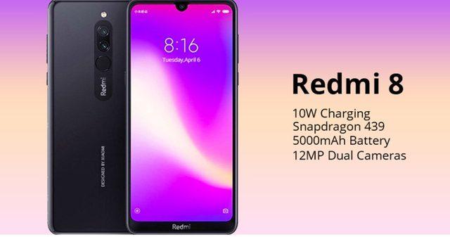 2019 Global Version Xiao Redmi 8 Smartphone 4GB RAM 64GB ROM Snapdragon 439 10W Fast Charging 5000 mah Battery Cellphone 17