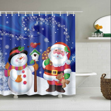 Modern Simplicity Bathroom Shower Curtain High Quality Waterproof and Mildewproof Polyester Material Shower Partition Curtain unique mandala mildewproof shower curtain