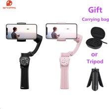 Heißer Snoppa Atom 3 Axls Faltbare Tasche Größe Handheld Gimbal Stabilisator Folding Stabilisator für iPhone für GoPro mit lade