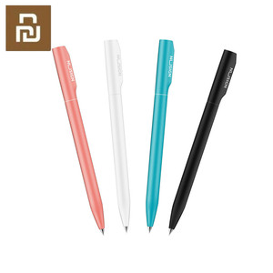 Image 1 - 4colors  Nusign Sign Pen Gel Pen ABS 0.5mm Black Color Ink PREMEC Smooth Switzerland Refill Pens For School Office
