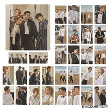 Paper Photo-Card Collective Gift Kpop Exo for Fans Hawaii Self-Made 30pcs/Set