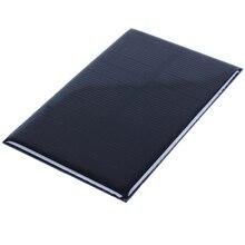 """Панели солнечные модуль для Батарея сотовый телефон Зарядное устройство, модель """"Сделай своими руками"""": 110X70 мм 5V 1,25 W"""