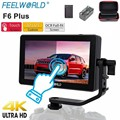 Feelworld F6 Plus монитор камеры 5 5 дюймов 3D Lut сенсорный экран 4K HDMI IPS FHD 1920X1080 монитор для DSLR камеры