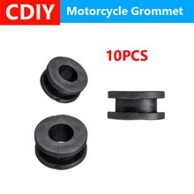 10Pcs Motorcycle Side Cover Rubber Grommets Gasket Fairings For Yamaha For Honda For Kawasaki For Suzuki CBR GSXR Ninja ZX YZF front upper fairing cowling headlight headlamp stay bracket for kawasaki ninja zx10r zx 10r 2008 2009 2010