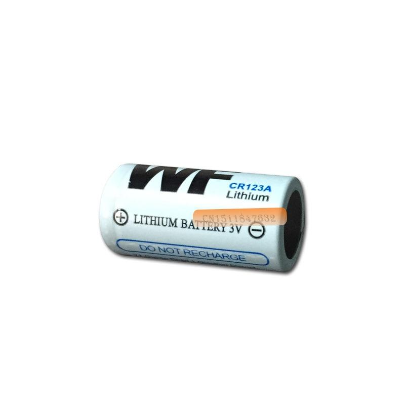 2 шт. WF CR123A CR123 CR 123A 16340 литий-ионный аккумулятор Батарея 3V главным образом литиевая Батарея