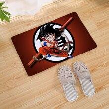 Cartoon Dragon Ball Legend Super Saiyan Home Doormat Corridor Kitchen Carpet Indoor Outdoor Welcome Non-slip Floor Mat