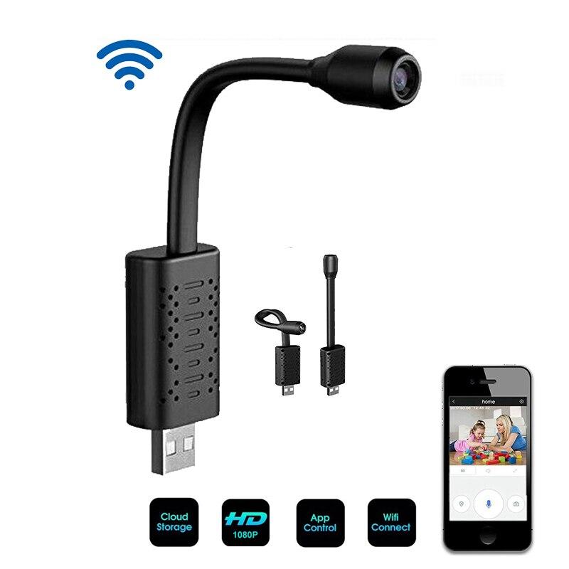 Novo mini usb wifi câmera ip completa hd 1080 p p2p cctv câmera com slot para cartão sd armazenamento em nuvem inteligente vigilância detecção de movimento alarme