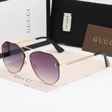 2020 New Fashion Square Ladies Male Goggle Sunglasses 1543 Men's Glasse