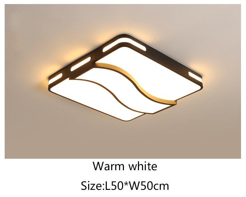 Luzes de teto led para sala estar