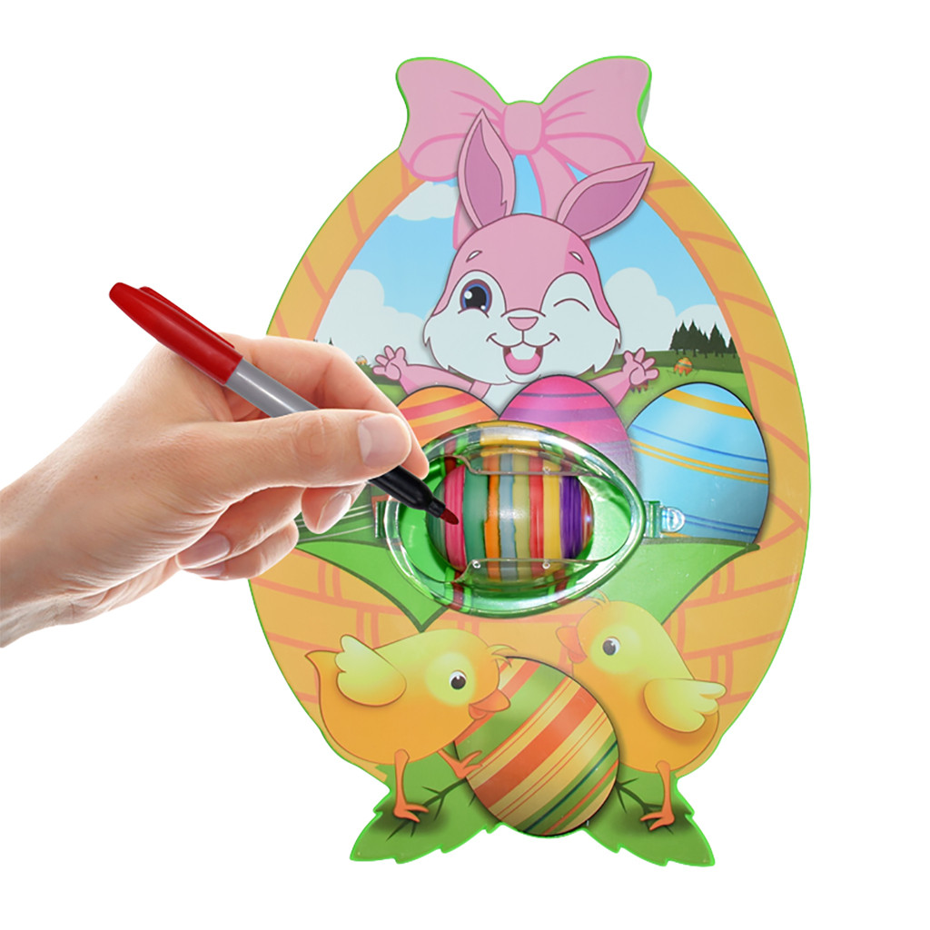 LED&MUSIC Electrical DIY Painting Color Eggs Toy  Kids Easter Eggs Education Toys Toys For Children Juguetes Zabawki игрушки