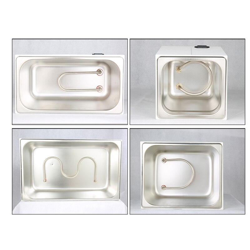 DXY цифровой термостатическая водяная баня Горячая водяная баня Цифровой Постоянная температура нагрева воды для ванной Labs Эксперименты 1/2/4... - 5