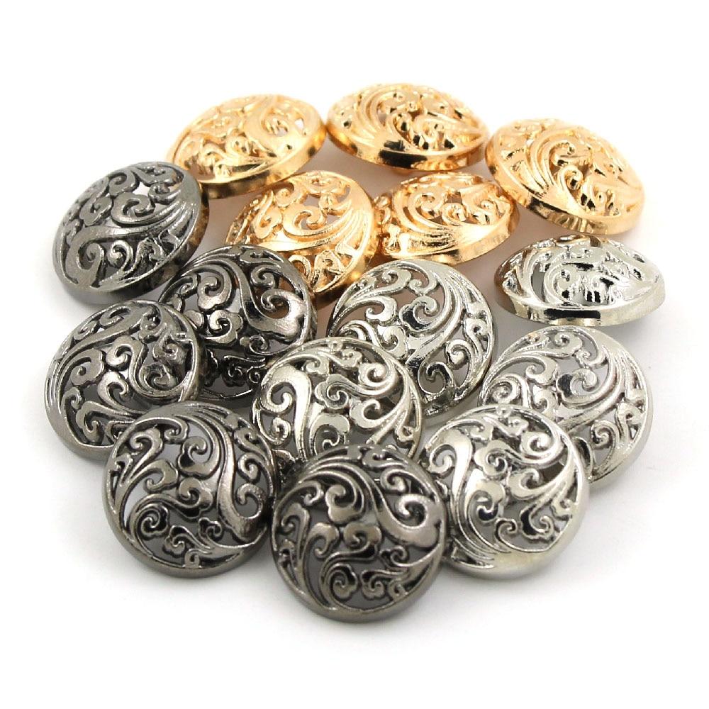 4 Pcs Plastic Blazer Coat Sewing Shank Embellishment Decorative Round Button