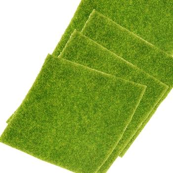 1PC 15x15cm DIY Artificial Fake Moss Decorative Garden Simulation Plants Lawn Turf Green Grass Micro Landscape Decoration - discount item  48% OFF Home Decor