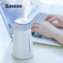 Baseus Humidifier Air Diffuser difusor Mist Maker For Home Office Car Aroma With colorful Lamp Light Fan