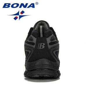 Image 3 - מעצבי BONA החדש פרה פיצול גברים ריצה נעלי Trendt ספורט נעלי גבר פופולרי סניקרס חיצוני הנעלה