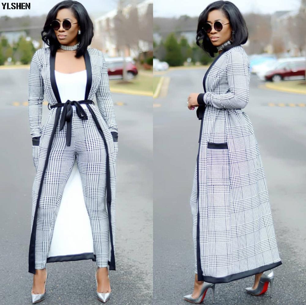 3 Pieces Set African Dresses for Women 2019 Autumn Ankara Wear Fashion African Clothes Basin Riche Dashiki Africa Dress Clothing
