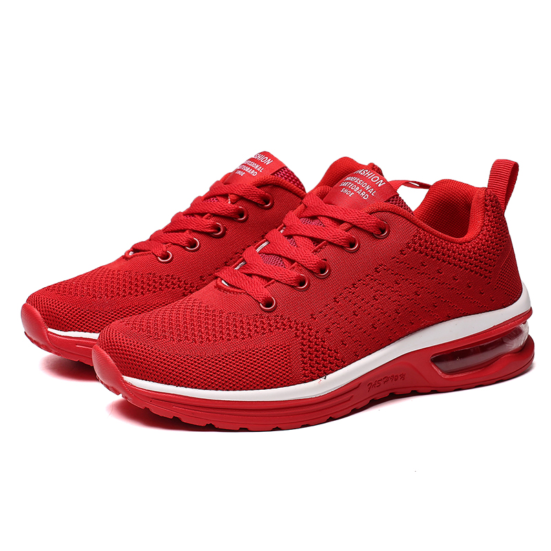 Men Running Shoes Breathable Lightweight Running Sneakers Women Flats Sports Shoes Air Cushioning Athtetic Gym Couple Shoes