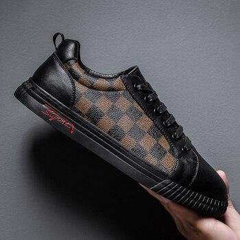 Zapatos informales transpirables para Hombre, zapatillas vulcanizadas, deportivas, tenis, moda, 2020