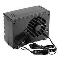 Black ABS Air Conditioner Cigarette Lighter Plug Kit Input Voltage DC 12V Power 30 60W 20*11*15 Cm