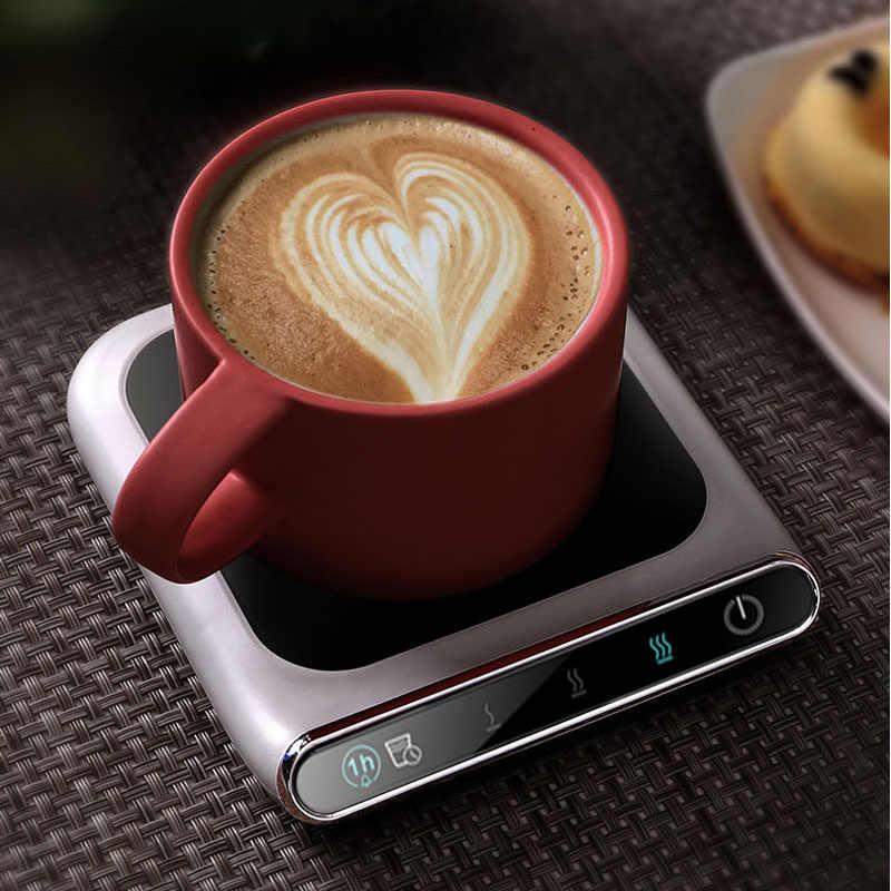 5V нагреватель чашки умный термостатический Горячий чайник 3 шестерни USB зарядка нагреватель Настольный нагреватель для кофе молока чай грелка Pad