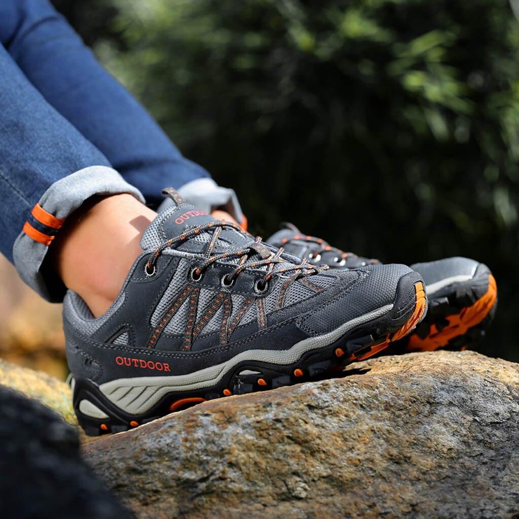 Мужская обувь для пешего туризма 2020, мужские кроссовки, обувь для отдыха на природе, Нескользящие кроссовки горные, мужские спортивные крос