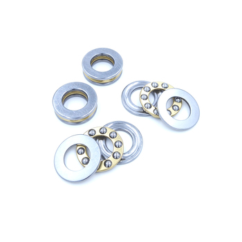 1Pc / 1Piece F10-18M 10 x 18 x 5.5 mm Axial Ball Thrust Bearing 3-Parts * 3-in-1 Plane High Quality image