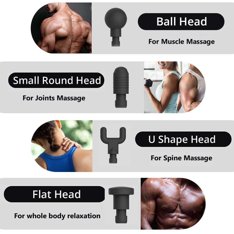 PHOENIX Muscle Massage Gun for Slimming Shaping Pain Relief Electric Physiotherapy therapy Tools Back & Body Hypervolt Massager - 6