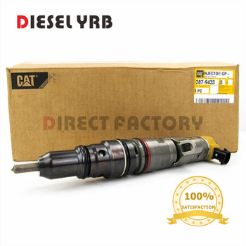 genuine and brand new 3879433 DIESEL INJECTOR FOR C9 330D, 336D EXCAVATOR