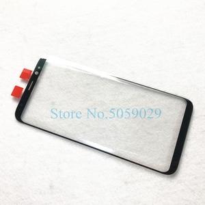 Image 2 - Verre externe de remplacement pour Samsung Galaxy S8 S9 S10 Plus S10e Note 8 9 10 + écran LCD écran tactile avant lentille extérieure en verre