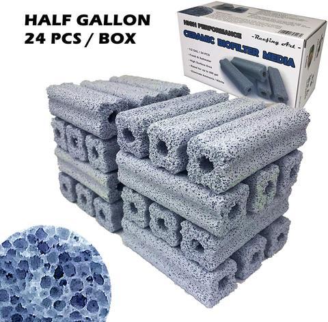 Керамический био-фильтр среды, большая площадь поверхности или емкость для отстойника для аквариума
