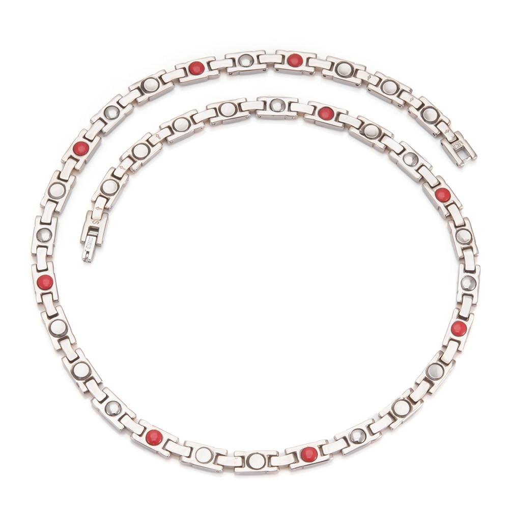 Wollet smykker Bio magnetisk rent titanium Germanium magnetisk - Mode smykker - Foto 2