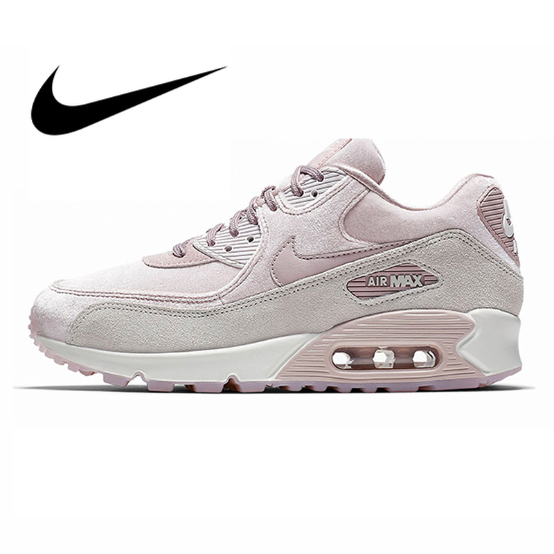 US $60.0 40% OFF|Original NIKE AIR MAX 90 LX Women's Running Shoes Sport Outdoor Sneakers Lace up Durable Athletic Designer Footwear New Arrival in
