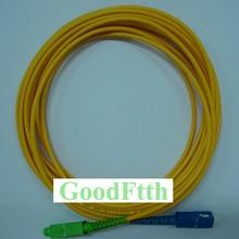 Fiber Patch Cord Patchcord SC-SC/APC SC/APC-SC/UPC SM G657b3 Simplex GoodFtth 100-500m ship патч корд оптоволоконный ship sc apc sc apc sm 9 125 simplex 3 0мм 3 м