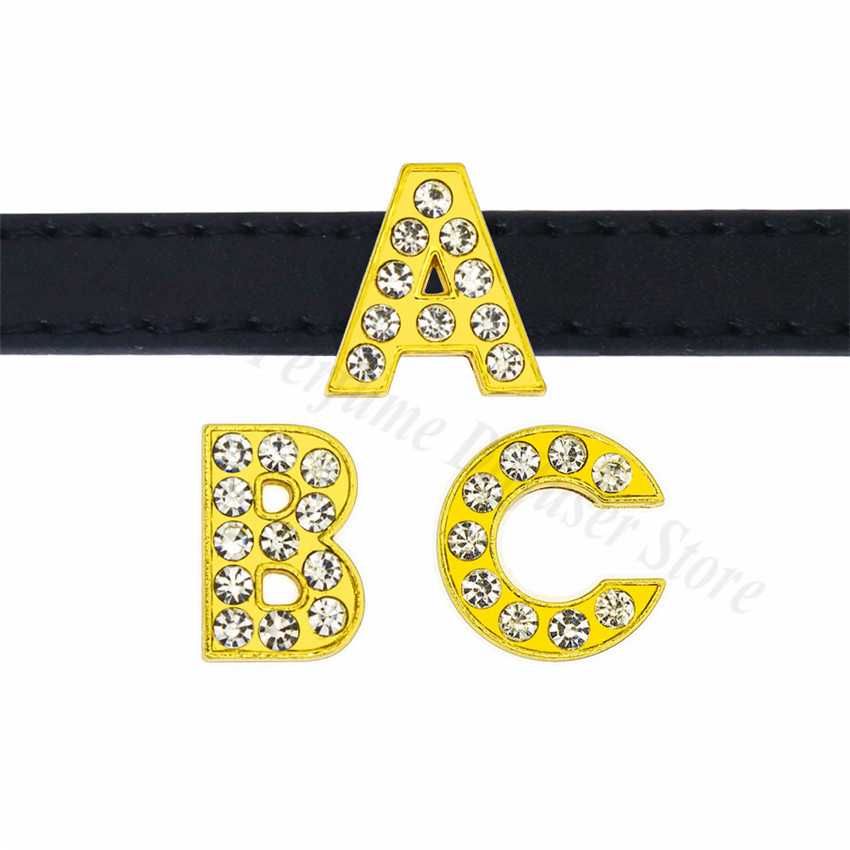 8mm-金色钻-字母穿戴-穿过主图-效果图
