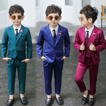 Dollplus New Suit for Boy Single Breasted Boys Suits for Weddings Costume Enfant Garcon Mariage Boys Blazer Kids Suits