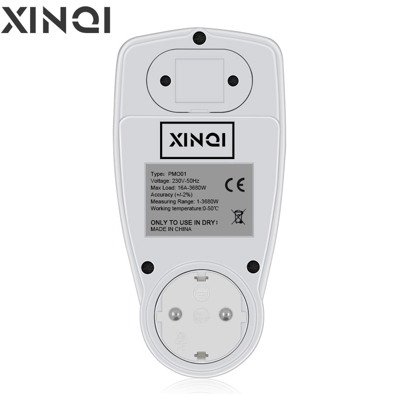 Digital Wattmeter LCD Energy Meter France Italy Chile AU US UK EU Plug Electricity Kwh Power Meter Measuring Outlet Analy
