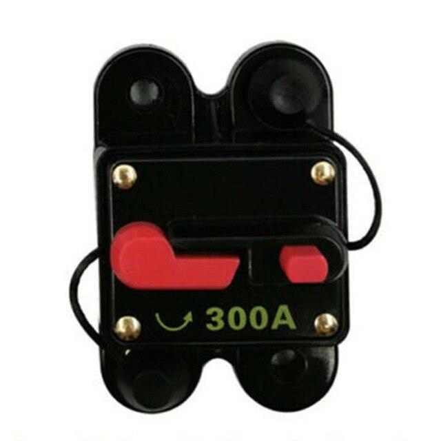 60A-300A Amp DC Circuit Breaker Car Auto Marine Stereo Audio Fuse 12V Waterproof