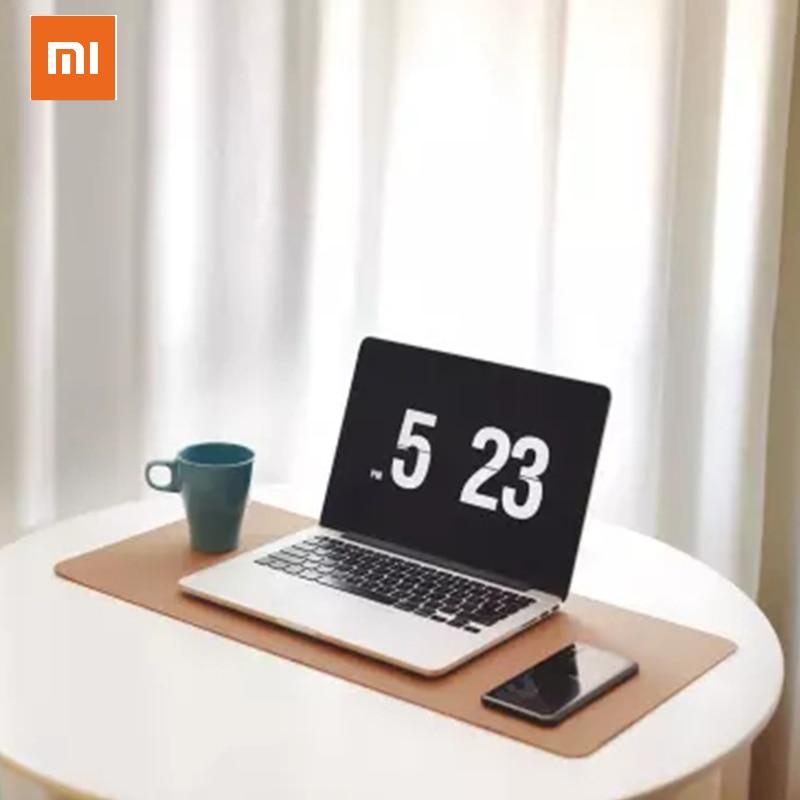 1C Новый Xiaomi Oak превосходный коврик для мыши натуральная пробковая текстура водонепроницаемый большой размер игровой коврик для мыши компьютерный ноутбук Настольный коврик