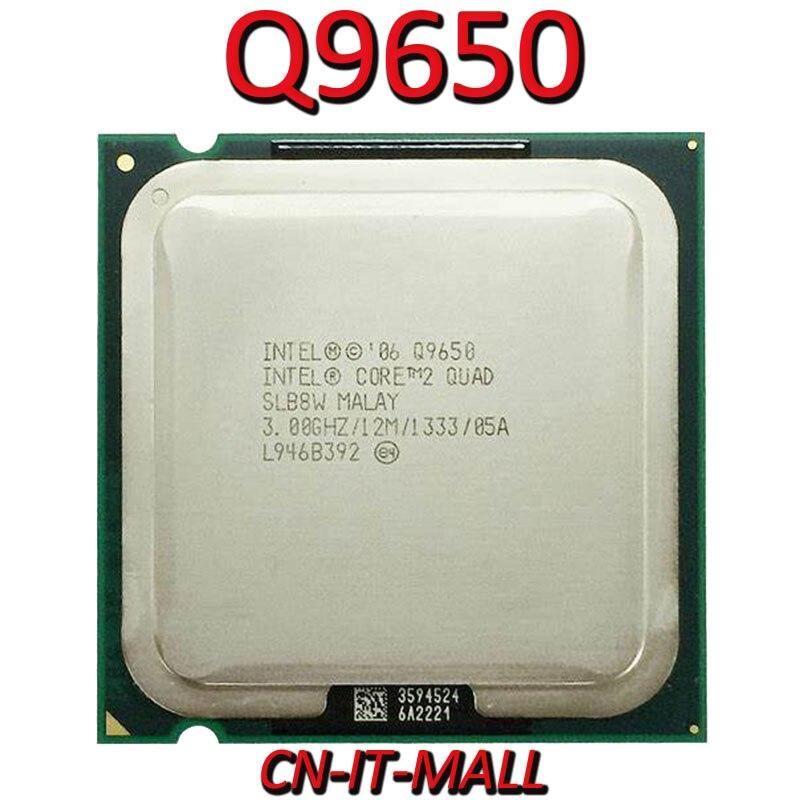 Intel Core Q9650 CPU 3.0G 4 Core 4 Thread LGA775 Processor