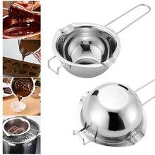 Водяная баня из нержавеющей стали для воды растопление шоколада нагревание плавление чаша для Выпечки Контейнер для разогрева кухонные аксессуары