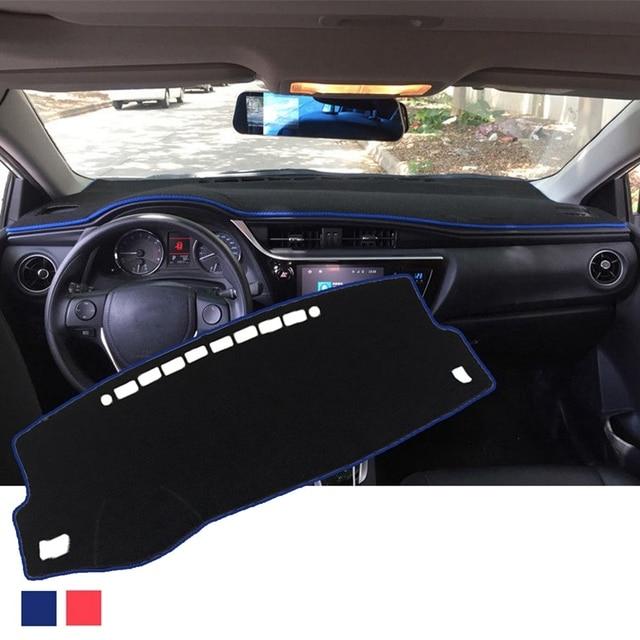 Car Dashboard Pad Instrument Platform Cover Pad for Toyota Corolla 14-18 Car with Anti-Slip Bottom Special Sunshade Carpet Pad B
