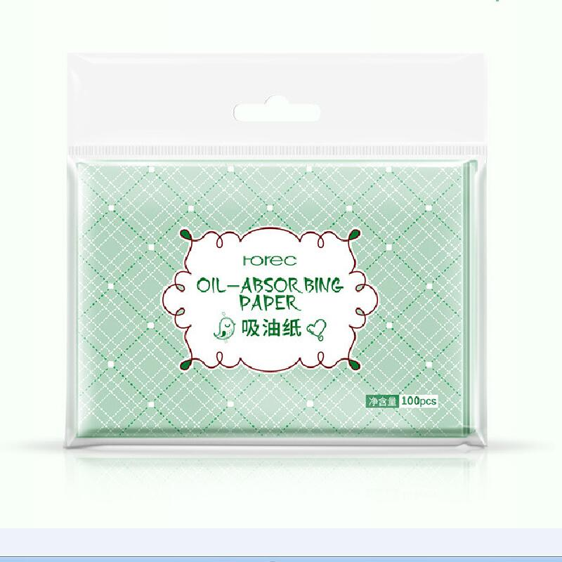 100pcs Facial Oil Blotting Papers Oil Absorbing Sheets Face Cleanser Acne Treatment Deep Cleansing Oil Control Tool Face Makeup