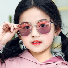 GQ233 Vintage New Kids fashion Sunglasses Boys Girls luxury brand Sun Glasses Safety Gift Children Baby UV400 Eyewear
