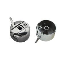 1 caja de bobina de máquina de coser de Metal para el hogar accesorios para máquinas de coser caja de bobina para máquina de coser de estilo antiguo