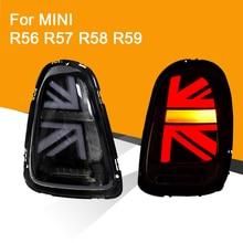 Светодиодный задний фонарь в сборе для мини R56 R57 R58 R59 светодиодный задний светильник поворотный сигнальный тормозной светильник задний светильник