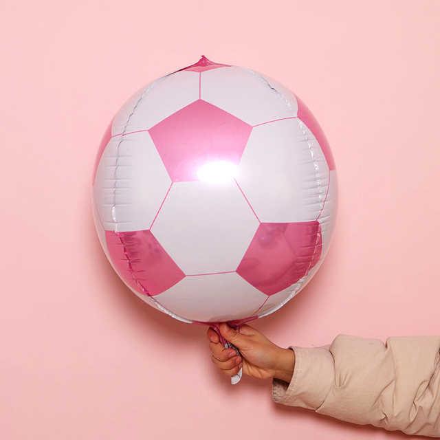18inch Barcelona bóng đá bóng đá bóng Bé Trai Trang Trí tiệc sinh nhật Tiếp Liệu Đồ Chơi trẻ em globos