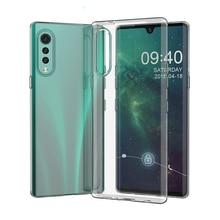 Transparent TPU Cover Fundas Coque for LG Velvet G9 ThinQ 4G 5G LGVelv