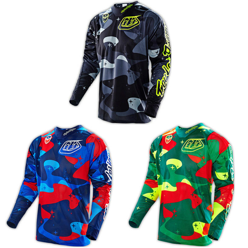 TLD Bicycle Clothing Bicycle Riding Clothes Long-sleeved Upper Garment Men's Long Sleeve Off-road Motorcycle Clothing Racing Sui