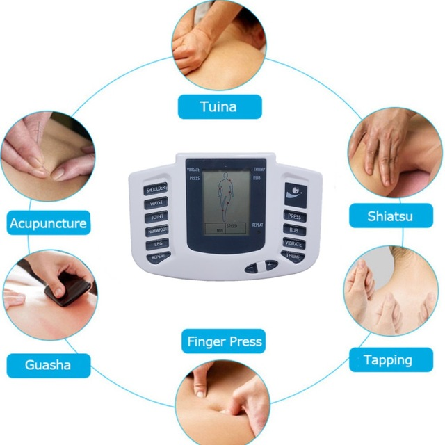 Tlinna  New Healthy Care Full Body Tens Acupuncture Electric Therapy Massager Meridian Physiotherapy Massager Apparatus Massager 3